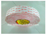 Hot Sale!3M VHB Acrylic Double Sided Adhesive Tape For Glass Attaching,0.25mm Thick,White