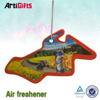 High quality hanging lavender scent auto air freshener