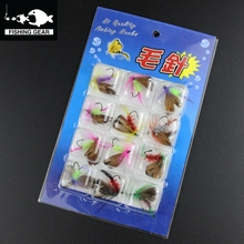 Dry And Wet Style Salmon Fly Fishing Lure Set Insect Artificial Fishing Bait Feather Single Treble Hooks Carp Fishing Lure