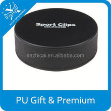 newest logo printed giveaway Advertising PU Hockey