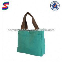 Eco Choice Cotton Canvas Tote Bag Silk Screen Printing Cotton Bags