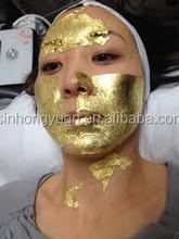 Brightening facial SPA treatment 24k pure gold facial mask