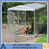 Baochuan powder coating galvanized strong steel dog kennel/pet house/dog cage/run/carrier
