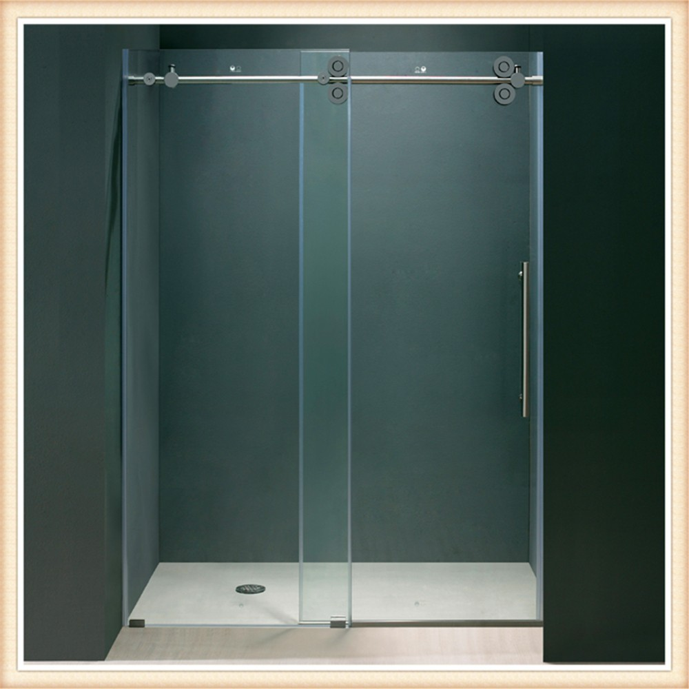 Puertas de ba o en cristal puerto rico - Puerta corredera cristal bano ...