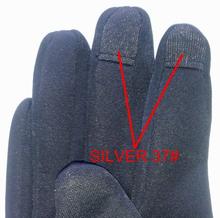 nano Silver fiber Telefingers gloves fabric