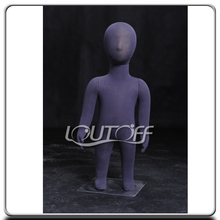 Pinnable soft fiber wrap kid mannequin for tailor penny-0
