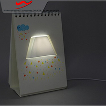 Page book light Innovative stylish led advertising screen