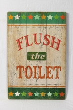 wholesale wood toilet wall hanging painting