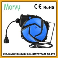 PVC material 3G1.5mm cable automatic mini electrical cord reel china shop online