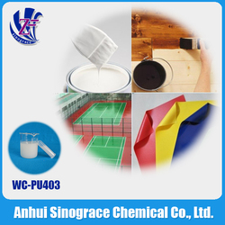 water soluble polyester resin adhesive WC-PU4030F