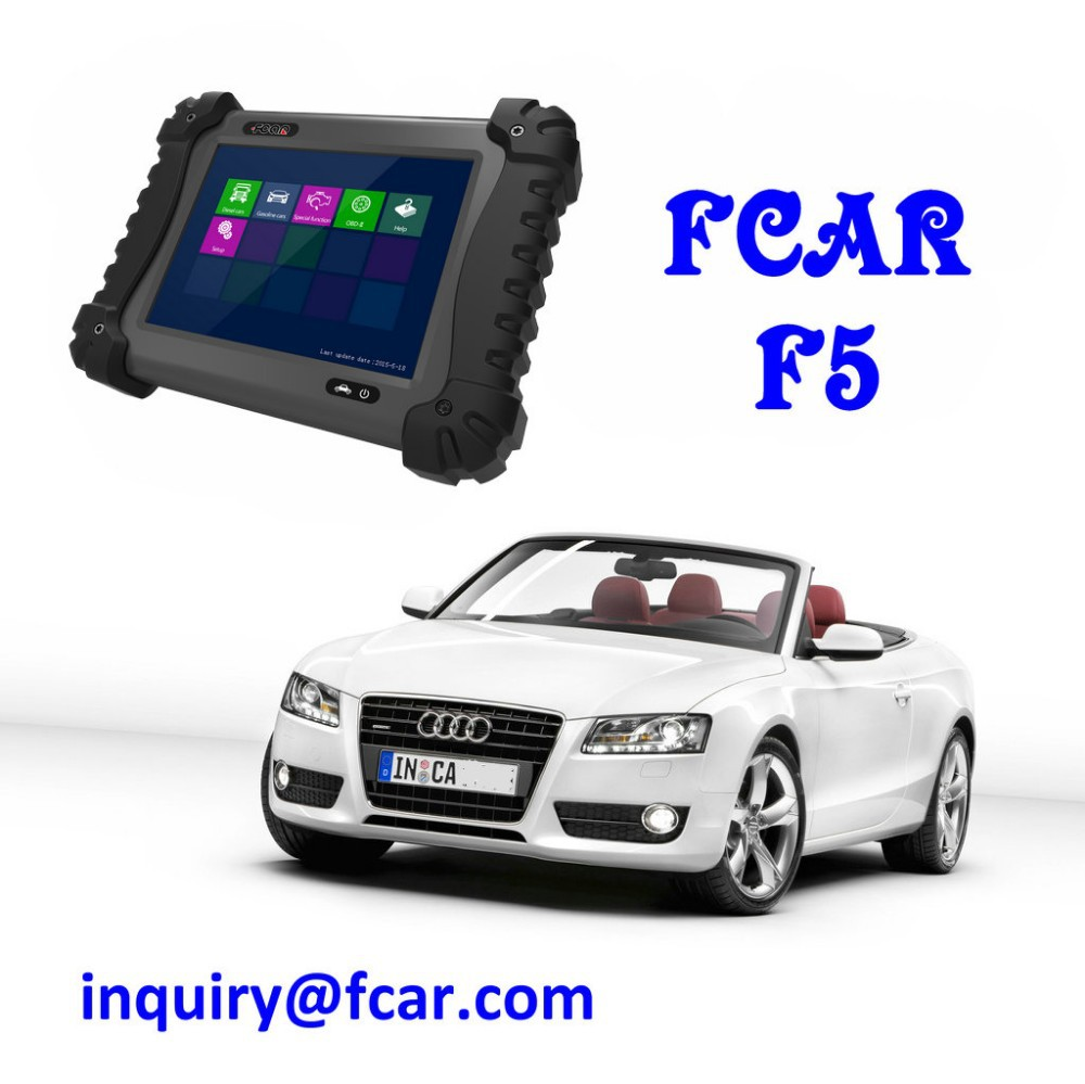 Pequeno carro ferramenta de diagnóstico, Injector, Bomba de combustível, Programação chave, FCAR F5G FERRAMENTA de VERIFICAÇÃO