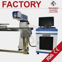 Design jinan machinery pottery glass co2 laser marking machine