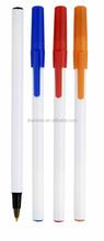 logo brand personalized pvc clip plastic ball pen