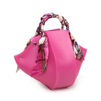 factory news project silicone bag,lovely design jelly handbag for your dinner party