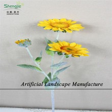 SJNS04 Good quality natural artificial sunflowers stem flower