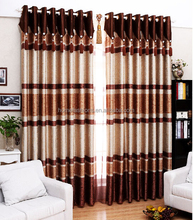 2015 Europe type style cheap hot sale curtain for jacquard window curtain shutter