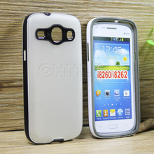 New arrival durable tpu cover with pc hard frame case for samsung galaxy core i8260 i8262