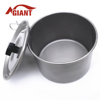 2015 hot sale Titanium cooking pot