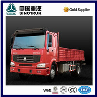 China made Howo 4x2 light cargo truck with Weichai Engine