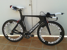 New design and hot selling T700 Toray,wholesale 700C carbon TT bike frame, time trial carbon triathlon bike