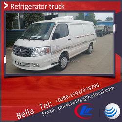 1000kg FOTON cold plate freezer truck,mini cold van for sale