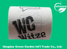 High Quality Colored Toilet Paper with Logo Max. 4 Color
