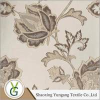 2015 factory price 100% polyester dubai Jacquard Blackout curtain fabric