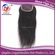 new arrival hot selling magnetic virgin huamn hair 100% unprocessed silk closure Indian with free part
