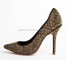 2015 Elegant Crystals decorated popular Shoes Women