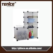 Tenice new product ikea plastic cloth display cabinet