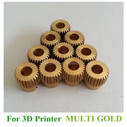 3D Printer Extrusion Gear for 1.75mm Filament 3D Printer Extruder 3D Printer Parts