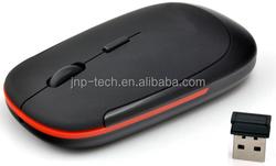 Cheap Flat Thin 2.4Ghz Mouse Wireless