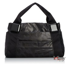2015 women quilted fabric toiletry tote bags leather weekend bag women