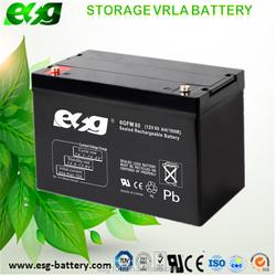 Dry Battery 12V 80ah lead acid batteries