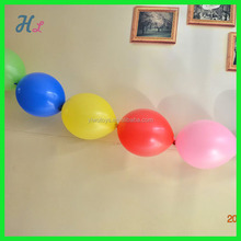 special tail shape balloon, link o loon balloon