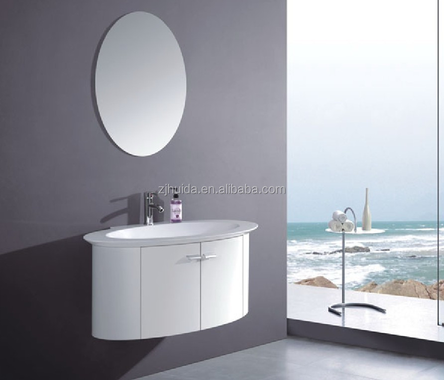 round oval shape pvc bathroom vanity buy laundry cabinet wall hang