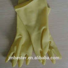 90g natural de látexindustrial guantes de conceder/anti- alérgica guantes