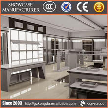 New product clothing showroom design,cloth shop counter design
