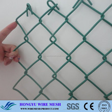 PVC coated/ galvanized chainlink fence