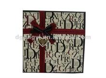 Fantasia& lusso di regalo carta/carta di regalo di stampa imballaggio hot la vendita in cina