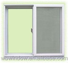 LG brand PVC frame sliding window,PVC sliding glass window