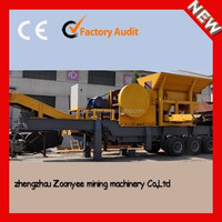 CE certificated Portable Crushing And Screening Equipment For Sale