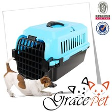 Plastic Pets Kennel with stainless steel door