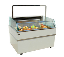 APEX open type counter top display confectionery showcase