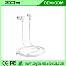2015 new stylish retractable earphone reel earphone with rapid delivery