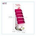 Pop pfd-1050 de torta de papel de visualización 5 capa de cartón de soporte de exhibición para la torta