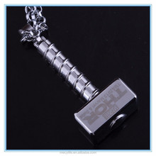 MECY LIFE hot sale stainless steel thor's hammer pendant necklace
