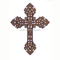 CLASSICAL WALL METAL CROSS