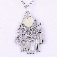 2015 new arrival best mom presents pendant necklace