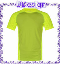 Fashion style custom short sleeve blank 100% polyester dry fit t shirts 100 polyester sport t shirts